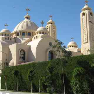 Шарм-эль-Шейх. Коптский храм Всех Небожителей