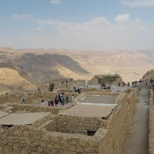 Израиль. Масада -остатки крепости