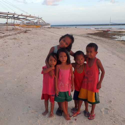 Остров Памилакан, местные жители