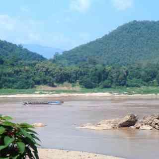 Меконг в Луанпхабанге