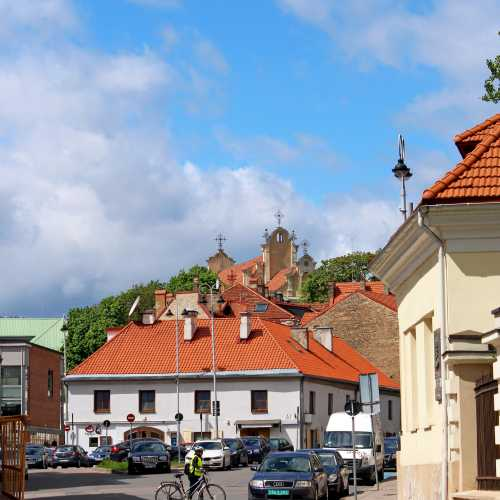 Вильнюс, Литва. 13 мая 2015 г.