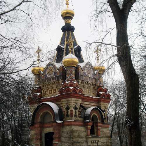 23 января 2оо8 г. Гомель, Беларусь. Часовня-усыпальница князей Паскевичей