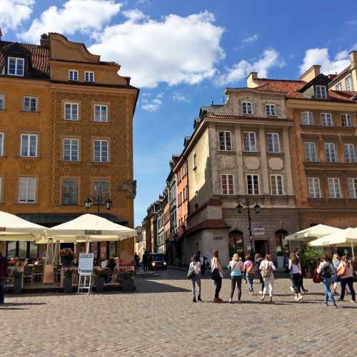 9 июня 2016 г., Замковая площадь, Варшава, Польша