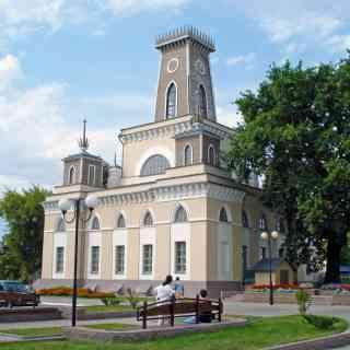 13 августа 2011 г., Чечерская ратуша, Чечерск, Беларусь.<br/> Ратуша построена во второй половине XVIII века в центре города.