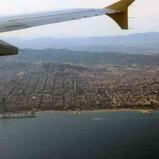 12 августа 2013 г., на подлёте к Барселоне, Испания