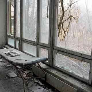 16 ноября 2013 г., больница в Припяти, Украина