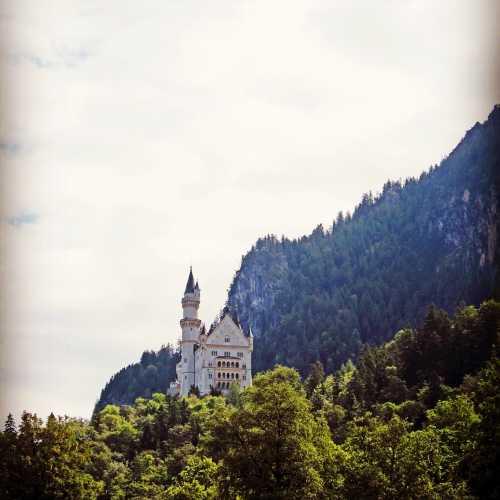 3 июля 2016 г., замок Нойшванштайн, Бавария, Германия