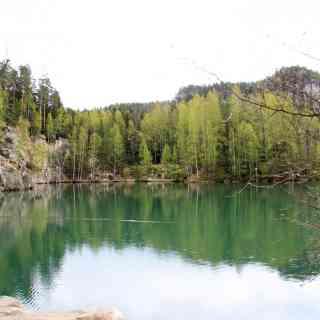8 мая 2017 г., скальный заповедник Адршпах, Чехия