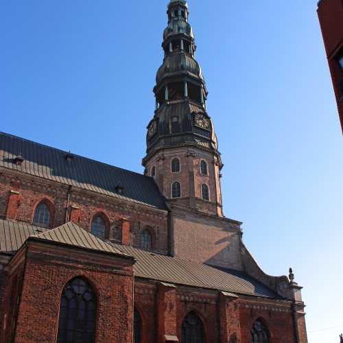 3 июля, 2015 г., Церковь Святого Петра, Рига, Латвия