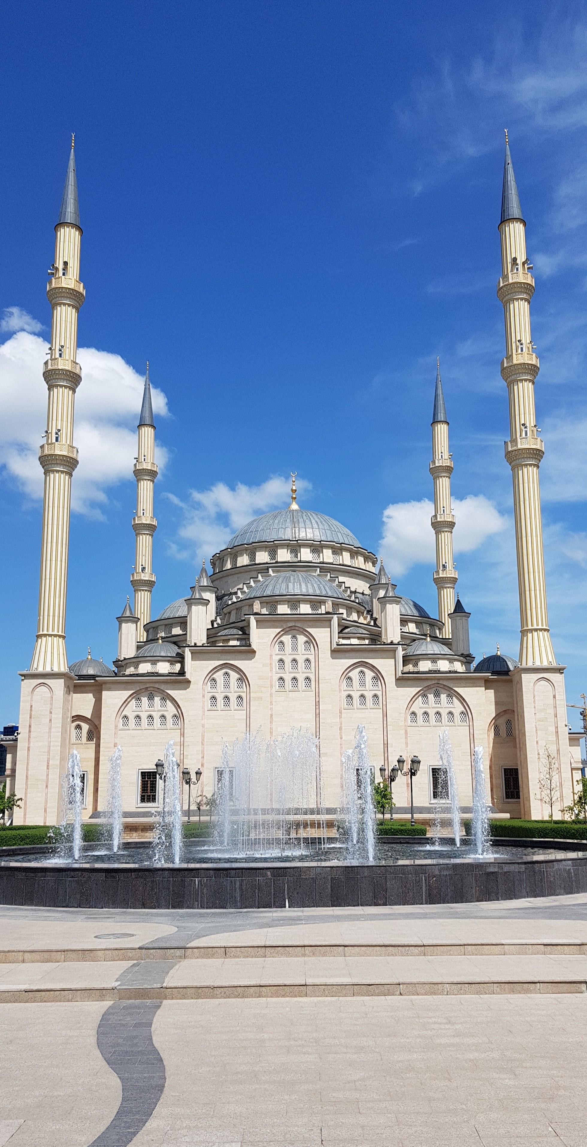 Мечеть Сердце Чечни