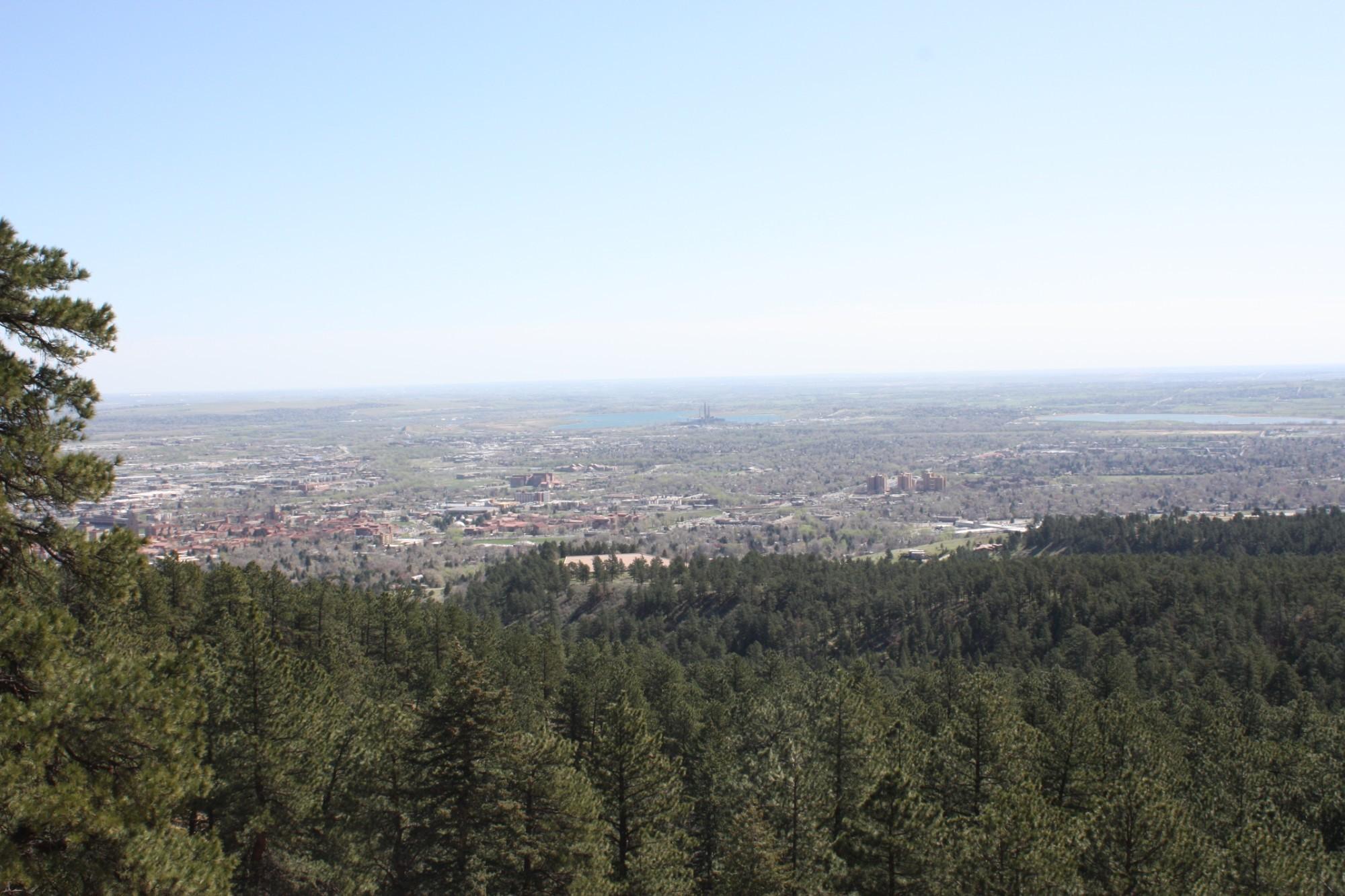Boulder from Flatiron's