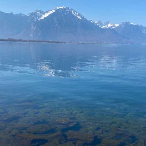 Lake Geneva from Montreux