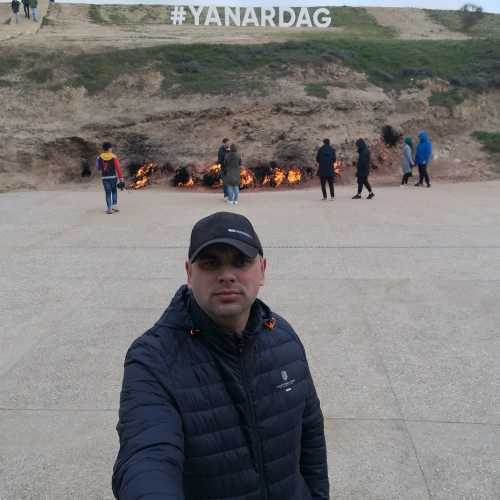 Yanar Dag, Azerbaijan