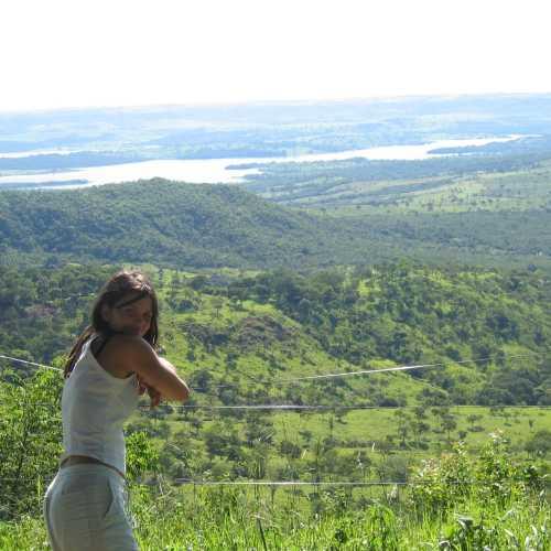 Artificial Lake — Paranaíba River — Divisa entre Minas Gerais — Goías
