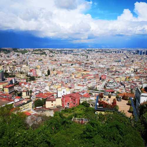 Landscape over Naples