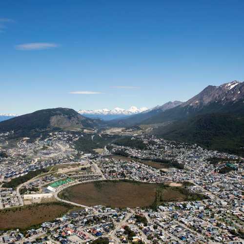 Ushuaia (aerial view)