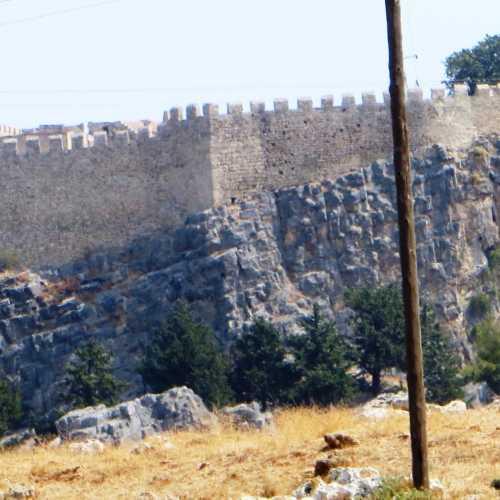 Acropolis of Rhodes, Greece