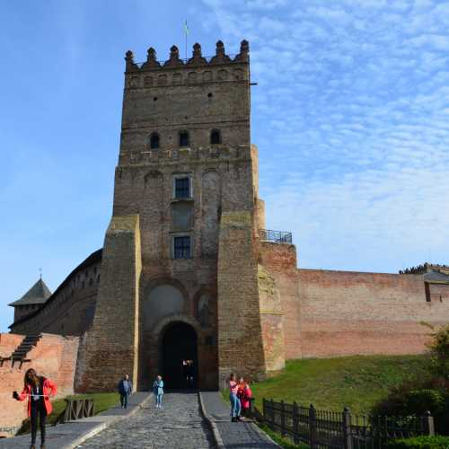 Entrance tower of Lutsk Castle