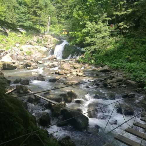 Водопад Каменка, Украина
