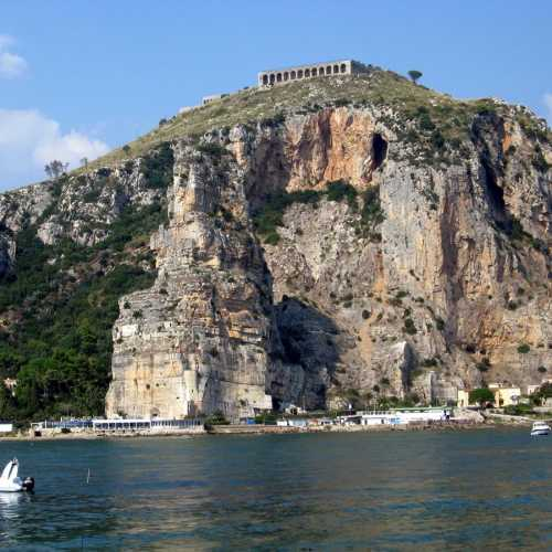 Temple of Jupiter in Terracina