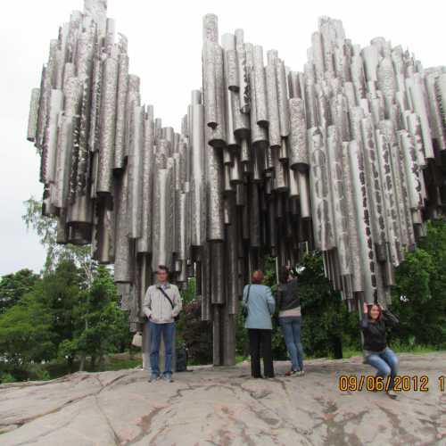Sibelius Monument, Finland