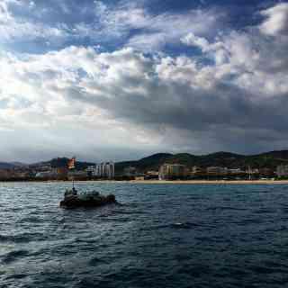 Море, небо и Ла Пилона