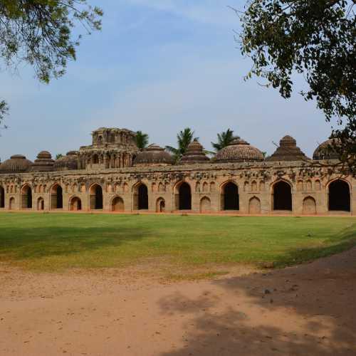 Стойла слонов, Индия