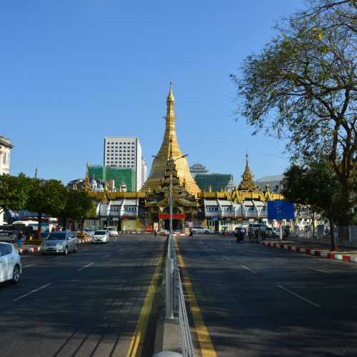 Sule Pagoda, Myanmar Burma