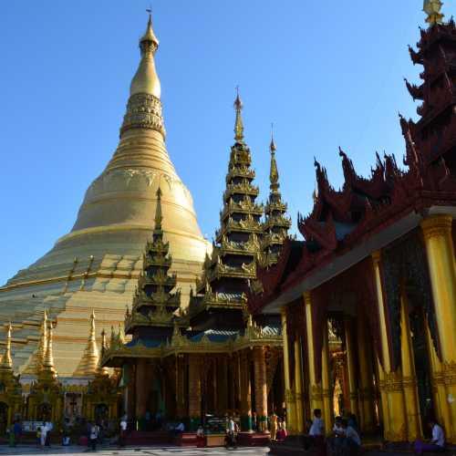Shwedagon Pagoda, Myanmar Burma