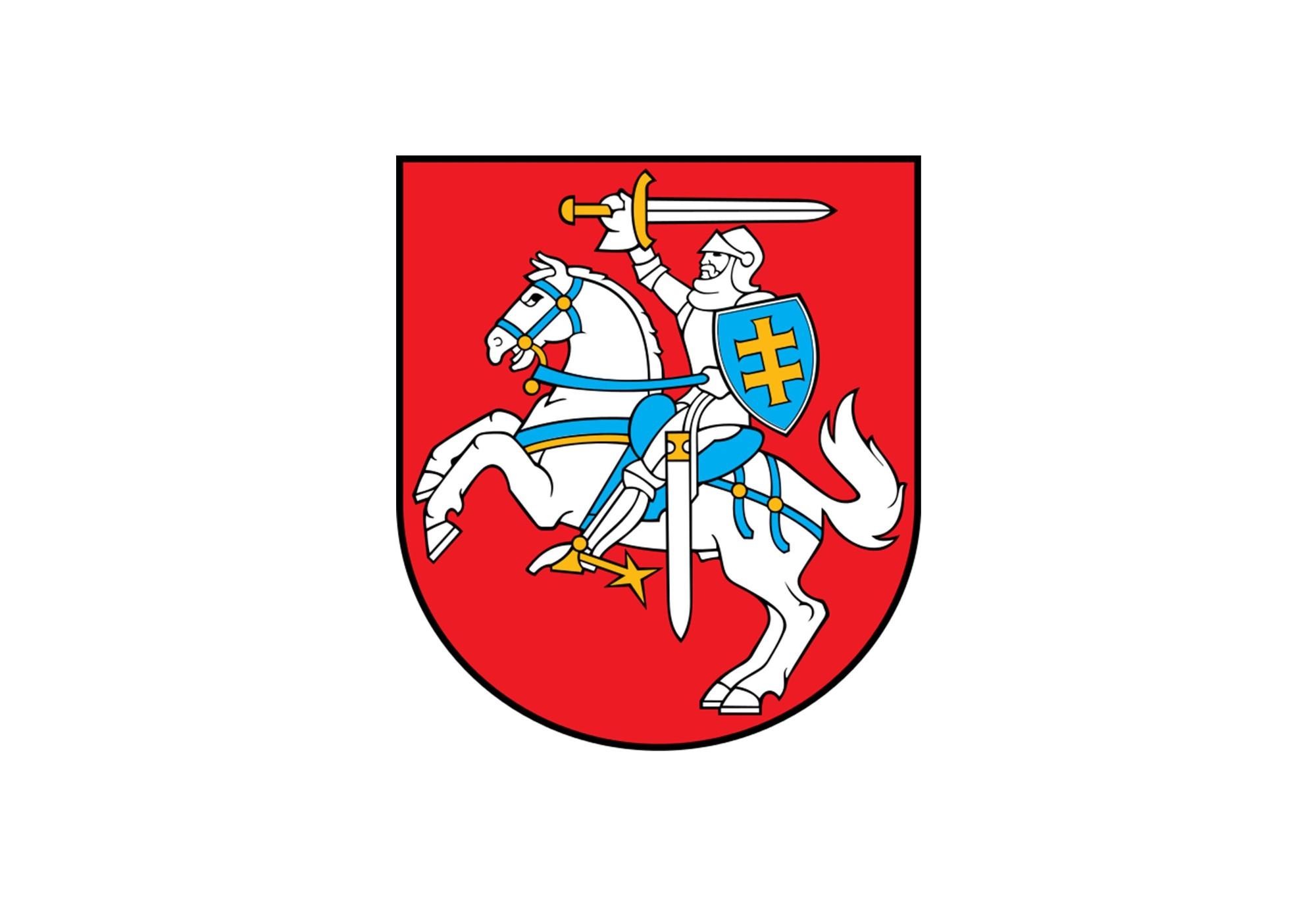 литва картинки герб и флаг