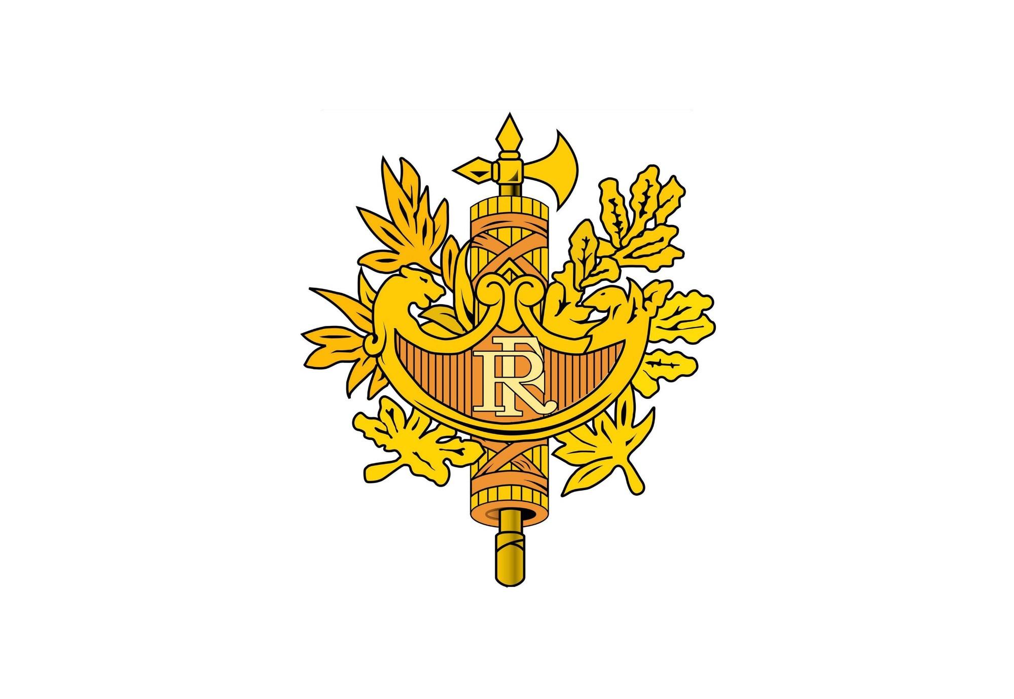 герб франции картинка острова