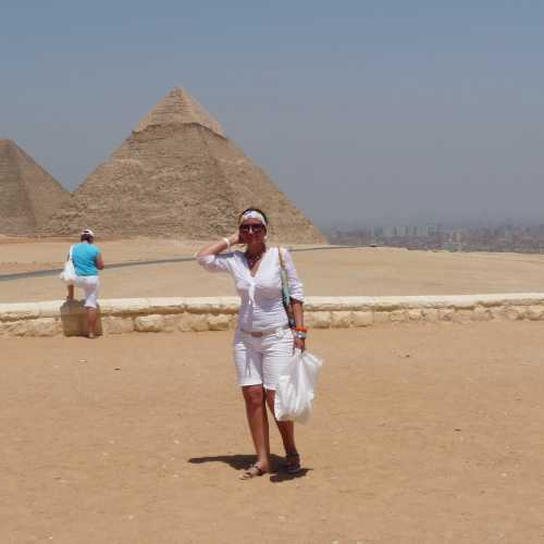 The Great Pyramid at Giza, Egypt