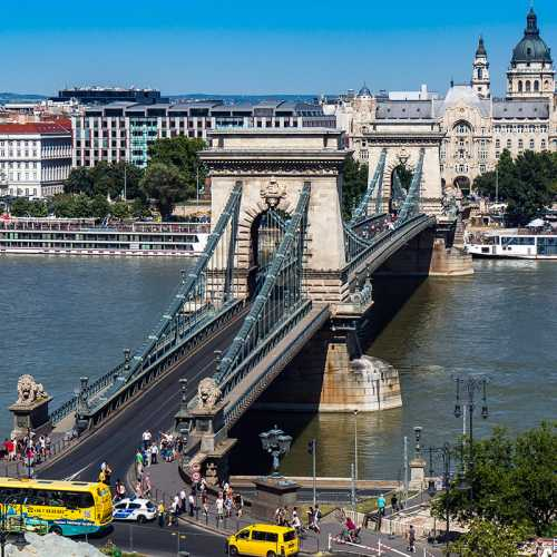 Chain Bridge Budapest, Hungary