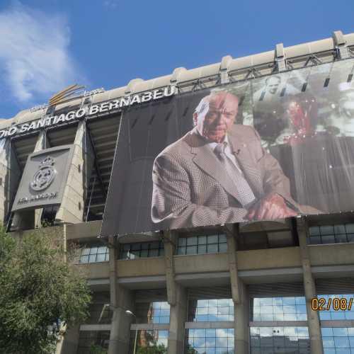 Santiago Bernabeu Stadium, Spain