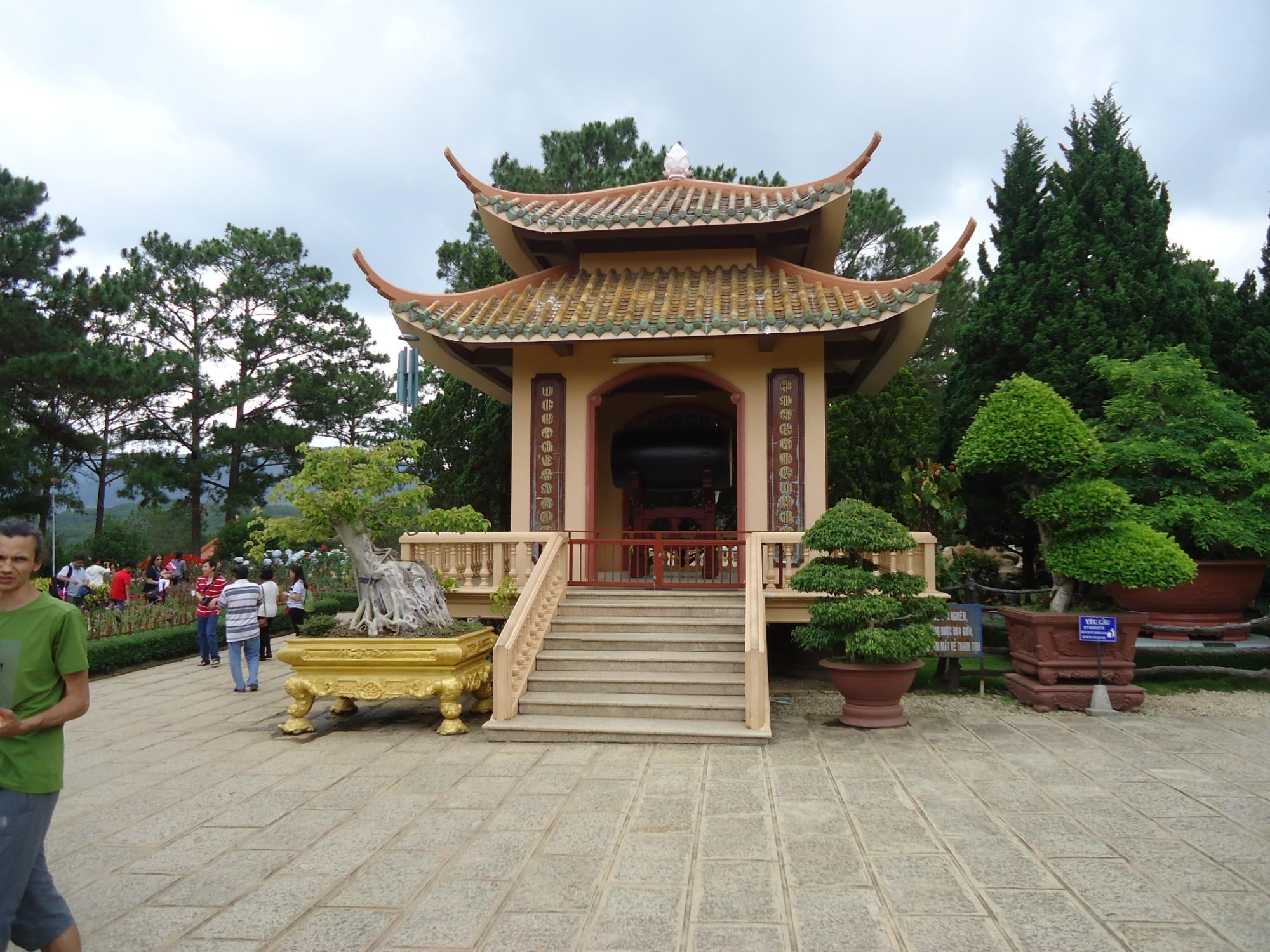 В буддийском монастыре Чук Лам