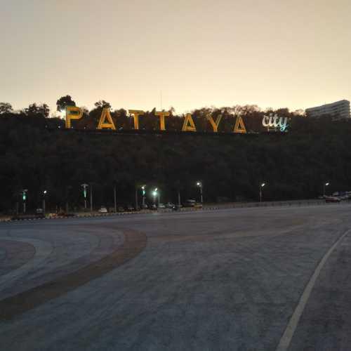Pattaya Sign, Thailand