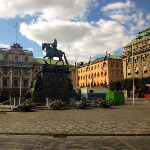 Памятник Густаву II Адольфу)
