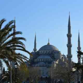 Стамбул, мечеть Султанахмет.