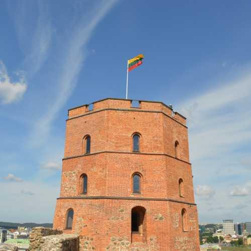 Вильнюс, башня Гедиминаса