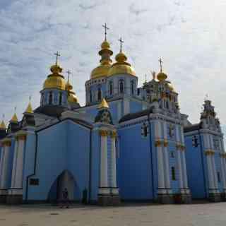Киев, Михайловский Златоверхий монастырь