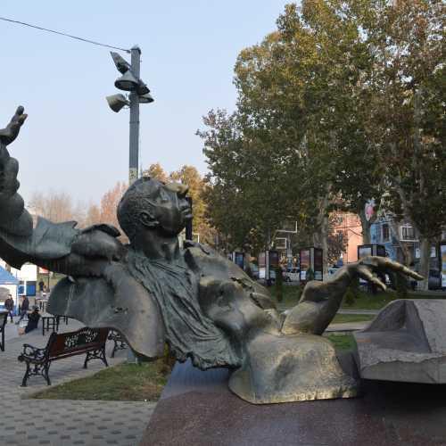 Ереван, памятник А. Бабаджаняну