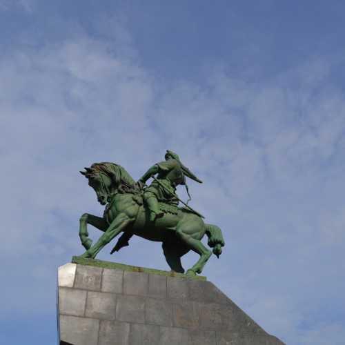 Уфа, памятник Салавату Юлаеву.