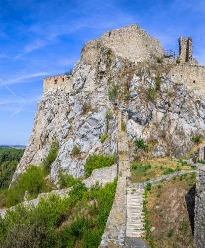 Девин Devin Castle, Slovakia