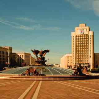 Плошча Незалежнасці, Мiнск