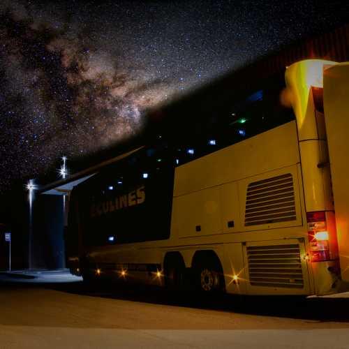 Kohtla-Järve, Buss Peterburi — Riia