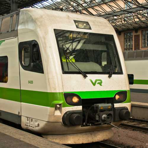 Rautatieasema Järnvägsstation, Helsinki