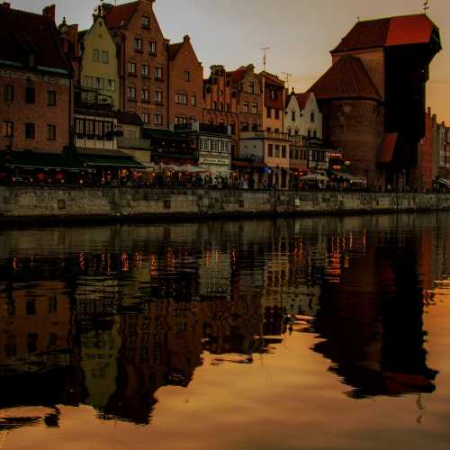 Kanał na Stępce, Gdańsk