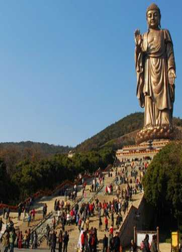 Grand Buddha at Ling Shan, China