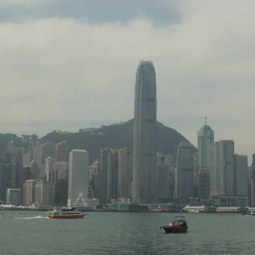 Гонконг. Вид на остров Гонконг