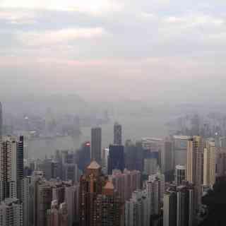 Гонконг. Вид с пика Виктория